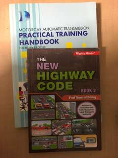 🚚 Driving Books - Practical Training book & Highway Code