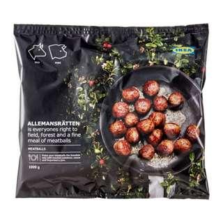 ALLEMANSRÄTTEN Meatballs, frozen, 84% meat content ~ IKEA's ORIGINAL
