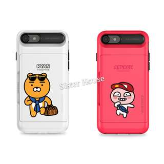 (包郵)🇰🇷Kakao Friends Ryan Apeach Travel Card Phone Case 手機殼