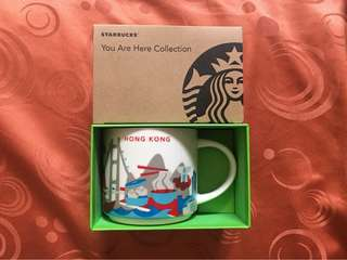 Starbucks Hongkong You Are Here Mug HONG KONG