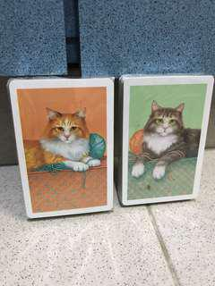 貓貓 playing cards