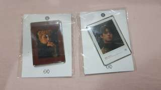 Sehun Epoxy Badge