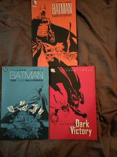 Batman jeph loeb tim sale trilogy tpb