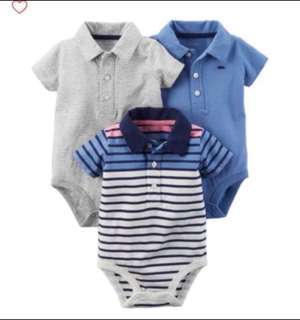 🚚 *12M & 18M* BN Carter's Polo Bodysuits For Baby Boy #CarouPay