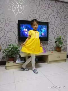 Beauty & the beast princess dress cotton