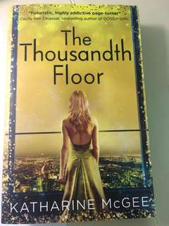 BNWT The Thousandth Floor book by Katharine McGee