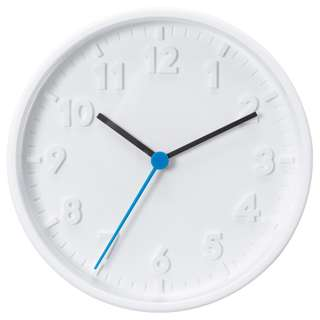 IKEA STOMMA Wall clock, white