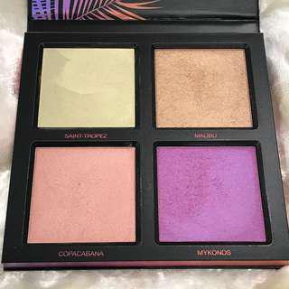 HUDA BEAUTY SUMMER HIGHLIGHTER PALETTE #Summer Solstice Edition