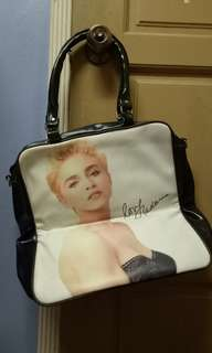 Madonna PVC handbag