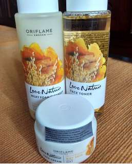 Oriflame love nature oat