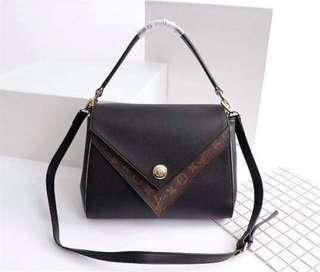 LV double V sling bag