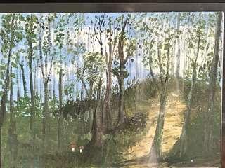 Acrylic Painting (Landscape)