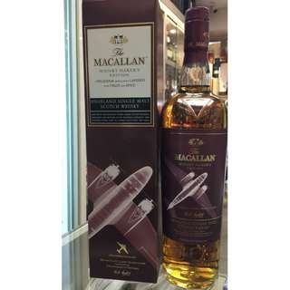 MACALLAN WHISKY MAKER'S EDITION  1930s Propeller Plane
