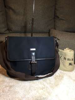 Authentic Burberry Medium Messenger Bag With Dustbag