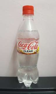 Japan Coca cola Clear