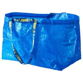IKEA FRAKTA Carrier bag, large, blue