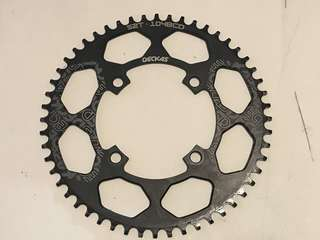 Deckas 52T 104 BCD Chainring Narrow Wide