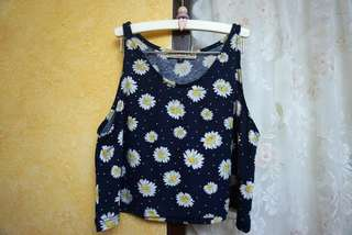 H&M Daisy Cropped Top