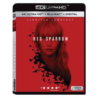 🆕 Red Sparrow 4K UHD + Blu Ray