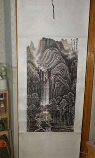 李可染山水畫
