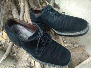 Gianni Versace suede shoes bukan prada Bottega gucci LV