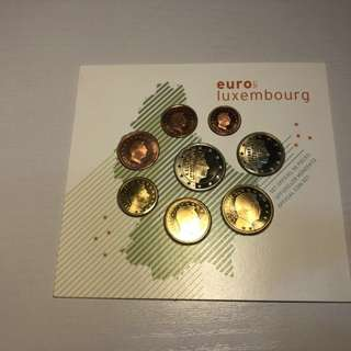 Luxembourg 2003 euro coin set