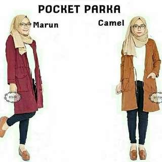 Pocket parka