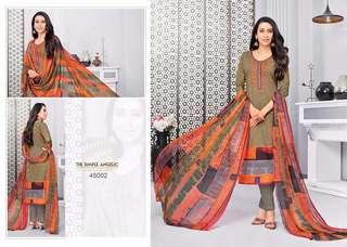 Versatile Glaze Cotton Digital Printed Party Wear Salwar Kameez