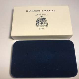 Barbados 1997 proof coin set limited edition minted by Canadian Mint
