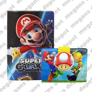 Super Mario Passport Cover and Card Holder
