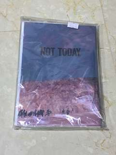 BTS - Not Today Exercise Book
