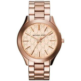 AUTHENTIC MICHAEL KORS (MK5896) WOMENS PARKER CRYISTAL BEZEL PVD ROSE GOLD