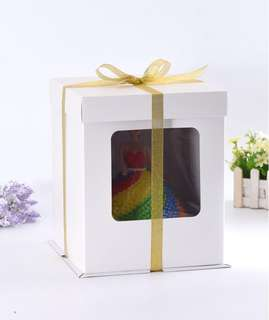 10 inch Tall 2-Tier Cake Box