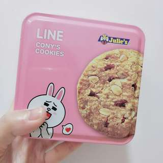 🚚 Line Cony's Cookies Accessories / Sweets Tin