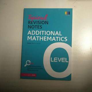 O Levels Maths Revision Guidebooks