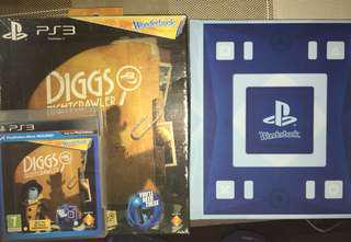 PS3 Move Game: Diggs Nightcrawler with Workbook