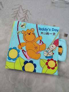 Baby Cloth/Fabric/Quiet Book (Teddy's Day)