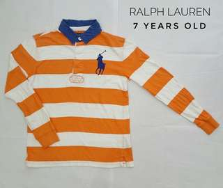 Ralph lauren long polo tee