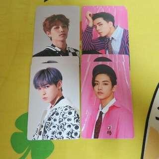 NCT 127貼紙Cherry Bomb