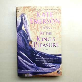 [LARGE DISCOUNT] At The King's Pleasure Novel BY Kate Emerson, Award-winning Author of the Secrets Of The Tudor Court Series, Never Been Read