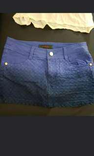 Rodennis Milano Faded Blue Skirt with short inside