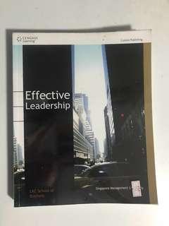 SMU LKCSB Effective Leadership, 2016