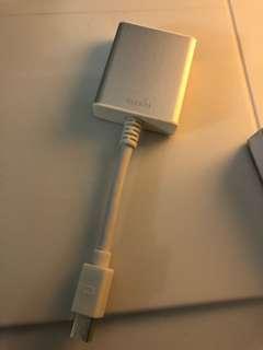 Moshi mini display port to HDMI Adapter