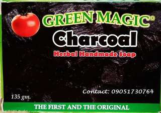 CHARCOAL Oganic Soap - Imus