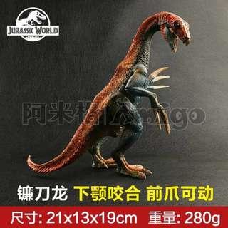 阿米格Amigo│ 新款 鐮刀龍 恐龍 dinosaur 仿真模型 侏羅紀世界 Jurassic 禮物 贈品 擺飾 男孩最愛 廠家直銷
