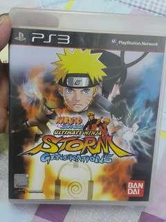 PS3 Naruto shippuden ultimate ninja