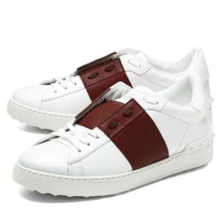 Valentino Open Low Top Sneakers Red Bianco McQueen Dior off white