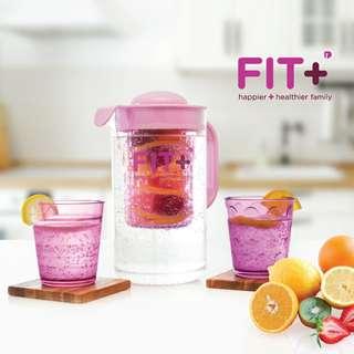 Fit infuser water jug ungu