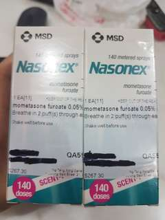 🚚 Nasonex Nasal Spray