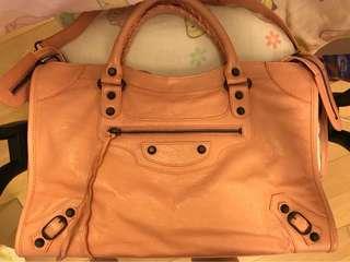 BALENCIAGA 115748 SAC + MIROIR 粉紅包袋